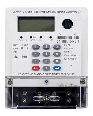 meter type CL710K16