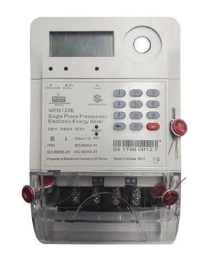 meter with seals